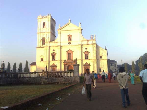 St.Cajetan's Church in Old Goa http://masalaherb.com