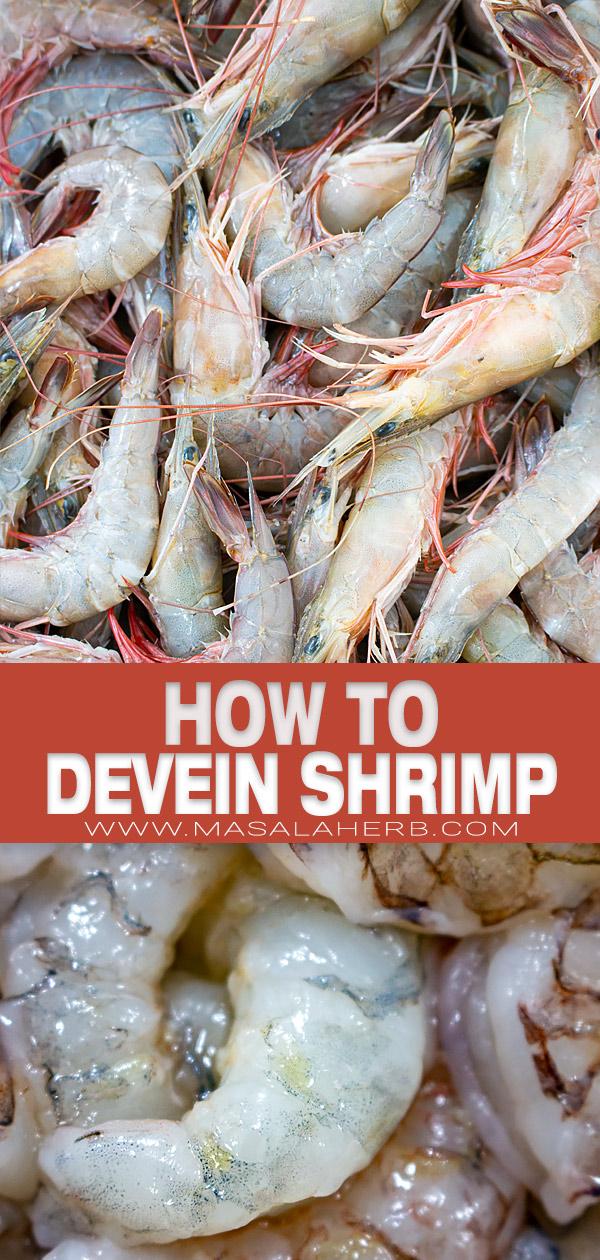 How to devein Shrimp? pin image