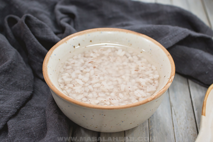 congee with whole rice