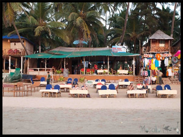 The Big Fish Restaurant review - Palolem beach #Goa @masalaherb