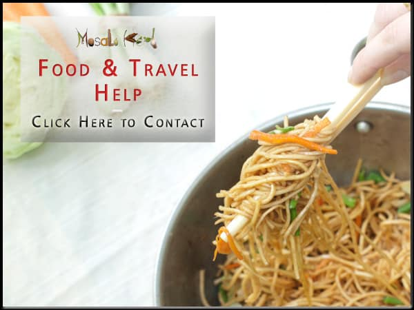 Masala Herb FOOD and TRAVEL Assistance and Feedback