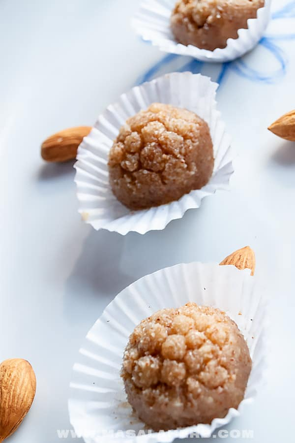 Natural Marzipan Candy with Honey [Easy]