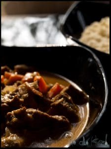 Beef Coconut gravy