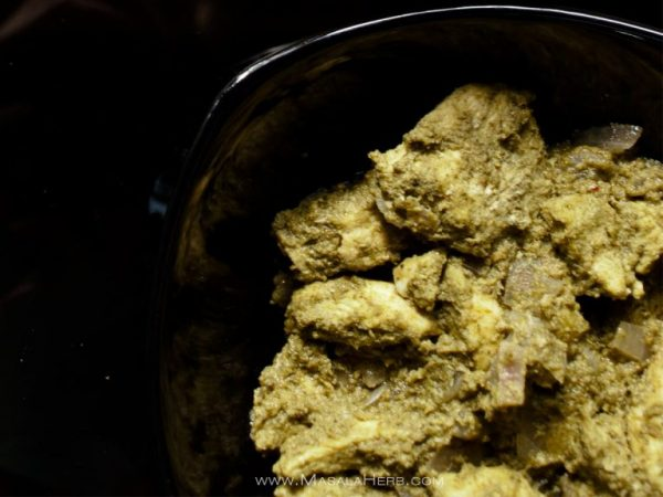 Chicken Cafreal - Goan Galinha Cafreal Recipe - How to make Chicken Cafreal www.masalaherb.com #indian #food