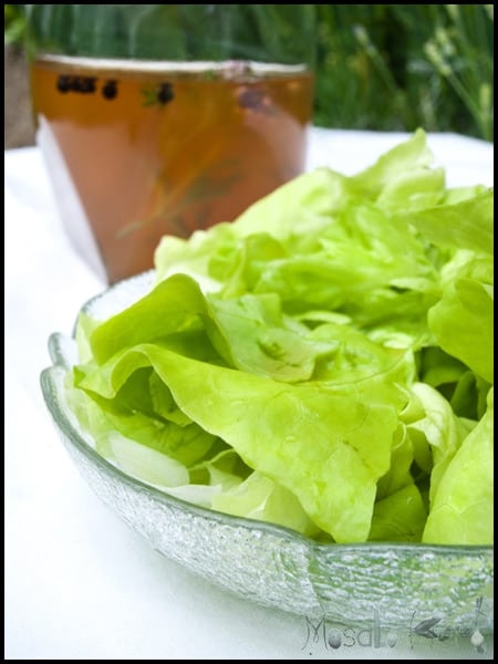 Homemade Herbal Vinegar Dressing #stepbystep #recipe masalaherb.com