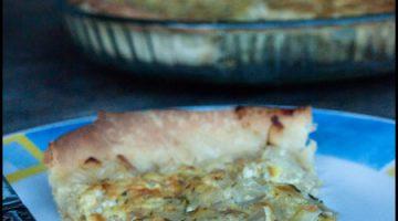 Onion Tarte #stepbystep #recipe masalaherb.com