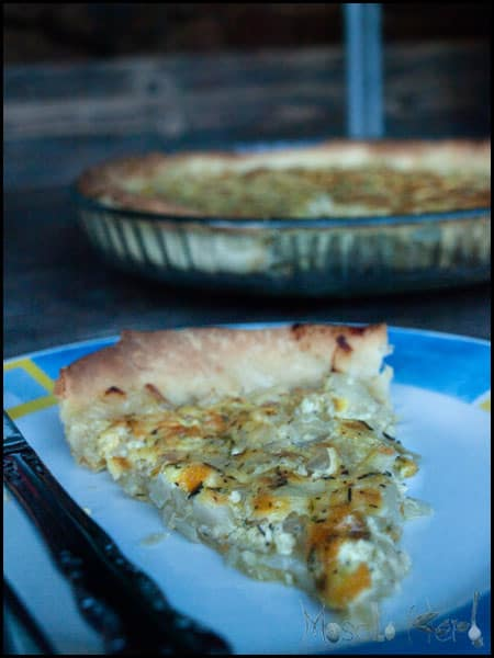 Onion Tarte #stepbystep #recipe masalaherb.com