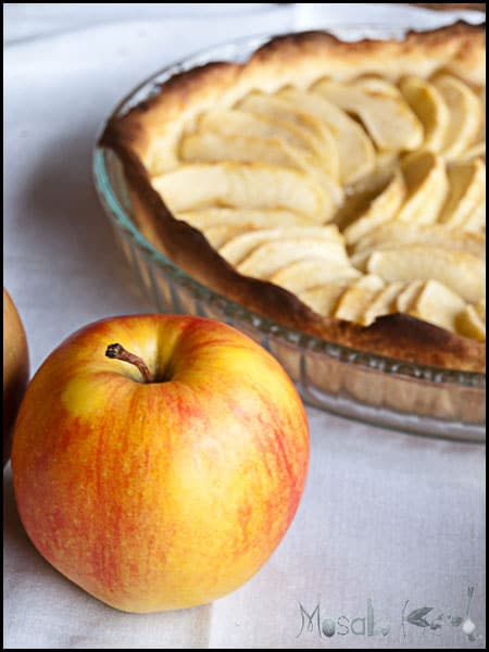 Apple Tart #stepbystep #recipe masalaherb.com