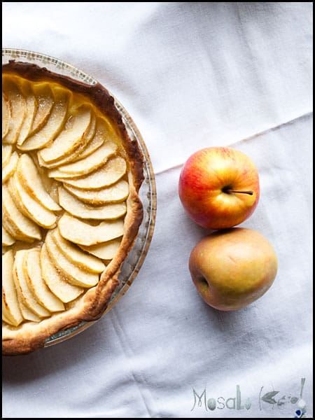 Apple Tart #stepbystep #recipe masalaherb.com