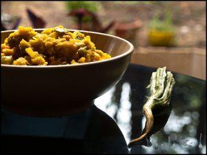 Luffa - Ridge Gourd Bhaji #stepbystep #recipe masalaherb.com