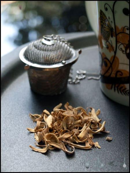 Sleepy Tea - Orange Blossom & Chamomile #stepbystep #recipe masalaherb.com