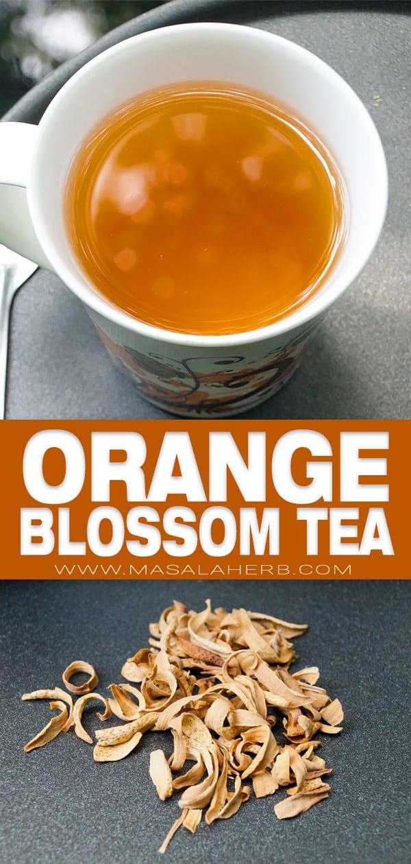 Orange Blossom Tea pin image