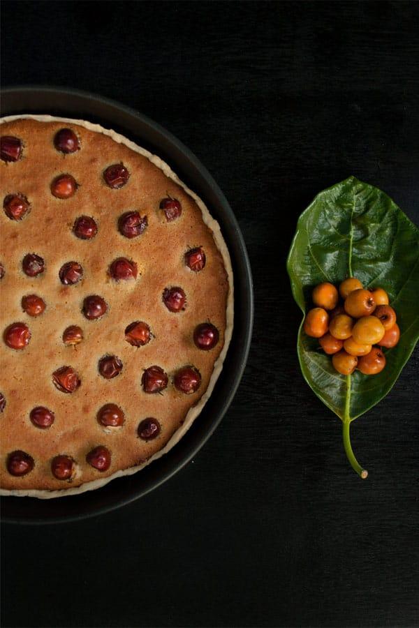 Bora Berry Tart with Coconut flour and Sugarcane Jaggery #stepbystep #recipe masalaherb.com