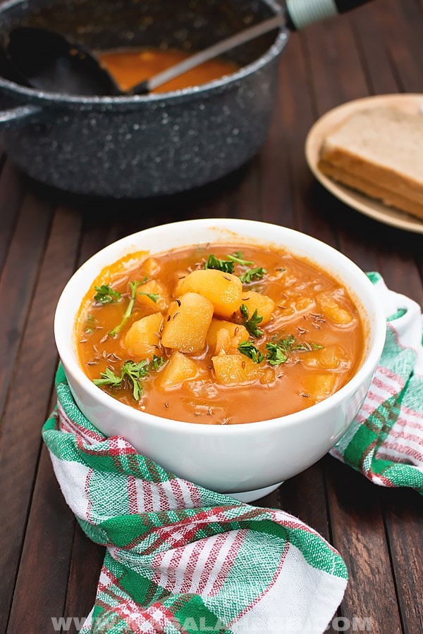Vegetarian Potato Goulash Recipe