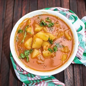Vegetarian Potato Goulash Recipe