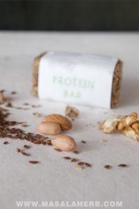 Homemade Protein Bars Recipe [without protein powder, Gluten free, Organic]