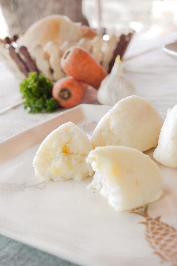 Vegetable Consommé with Semolina Dumplings - Grießknödel for #Sundaysupper #stepbystep #recipe masalaherb.com