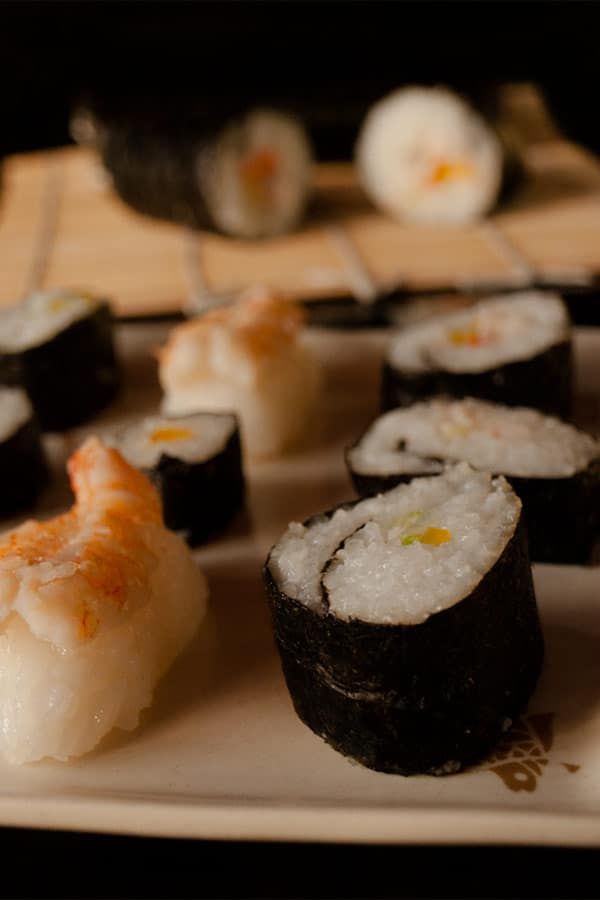 Making Sushi Rolls at Home #stepbystep #recipe masalaherb.com