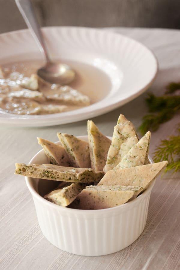 Biskuitschöberl   Herb dumplings #stepbystep #recipe masalaherb.com