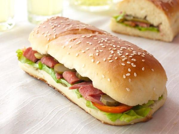 Ham Sandwich Recipe #stepbystep #recipe masalaherb.com