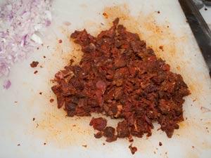 Savory madeleine with Goan Sausage #stepbystep #recipe masalaherb.com