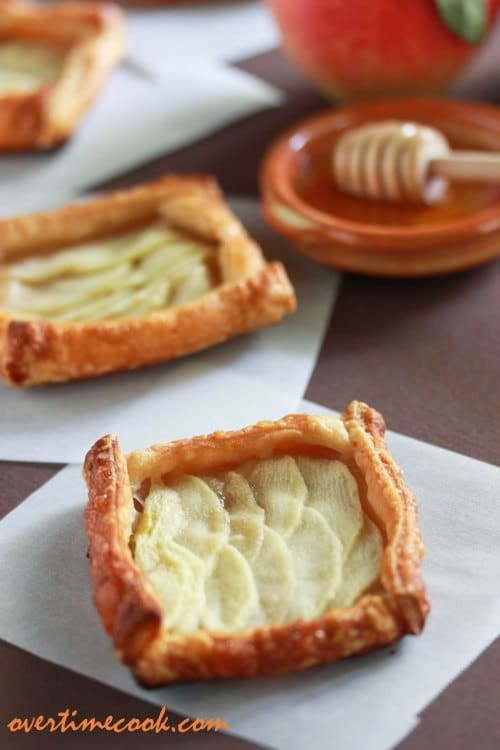 Mini Apple and Honey Tarts