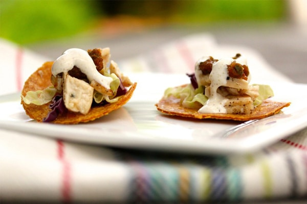 Mini-Chicken-Tostada-Appetizers