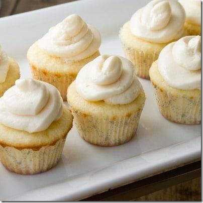 Mini Lemon Cupcakes with Perfect Silky Buttercream