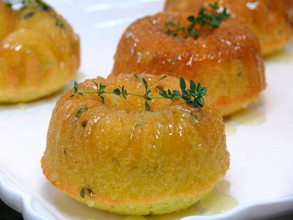 Mini-Lemon-Thyme-Pound-Bundt-Cakes-with-Lemon-Thyme-Glaze