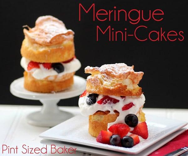Mini-Meringue-cakes