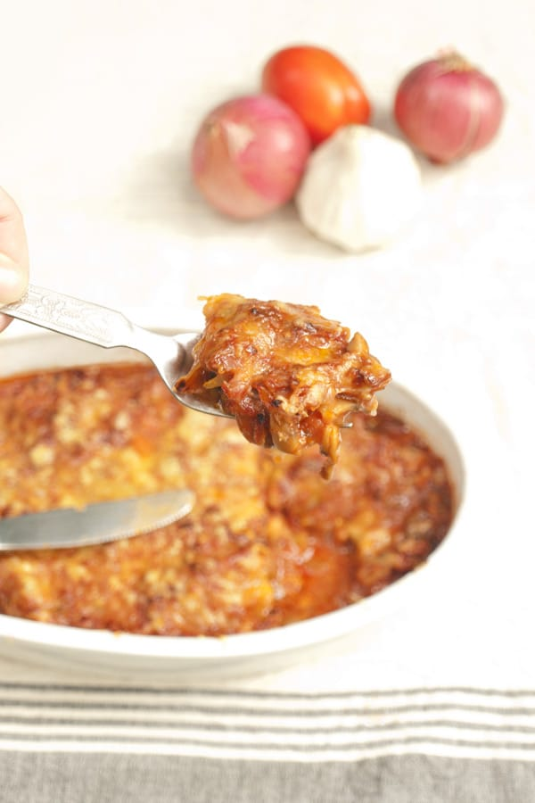 Ridge Gourd Bake (Luffa) masalaherb.com #stepbystep #recipe @masalaherb