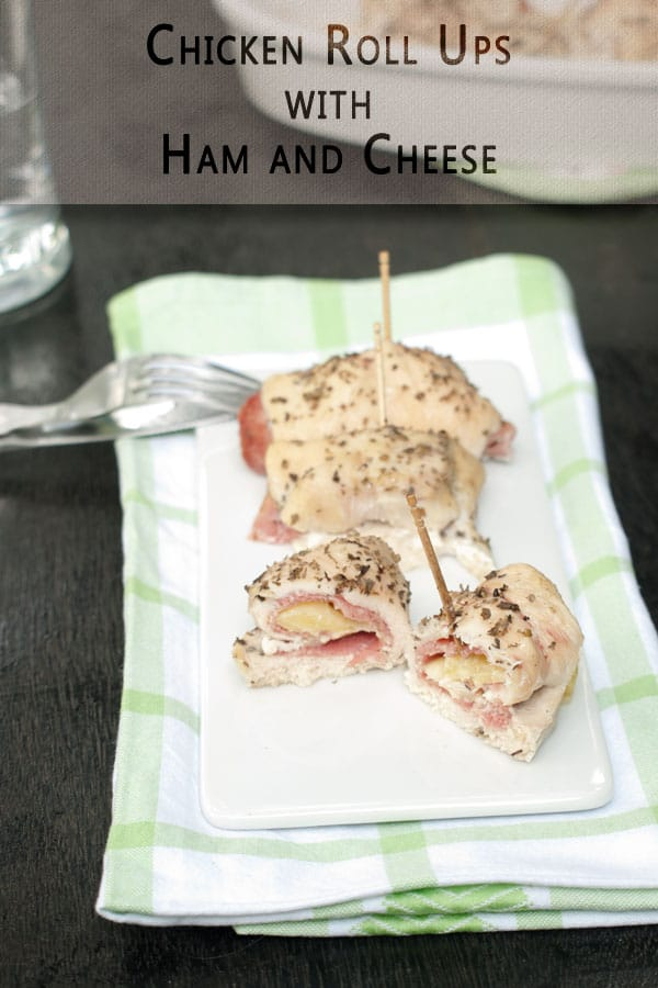 Chicken Roll ups with Ham and Cheese http://masalaherb.com #stepbystep #recipe @masalaherb