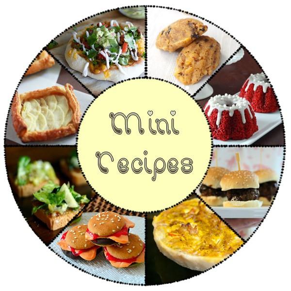 Mini Recipes Collection masalaherb.com @masalaherb