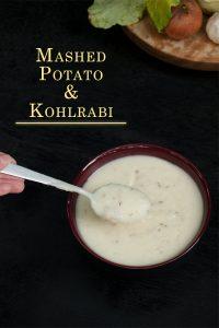 Mashed Kohlrabi with Potato Recipe