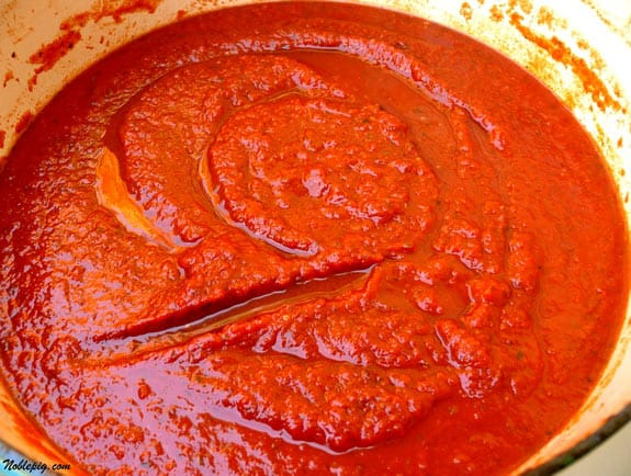 Three Day Marinara Sauce