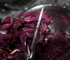 Red Spinach Stir Fry - Tambdi Bhaji Recipe http://www.masalaherb.com