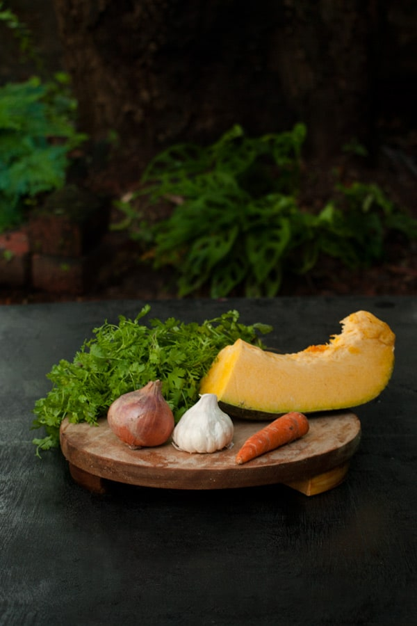 Spiced Pumpkin and Carrot Mash http://masalaherb.com #stepbystep #recipe
