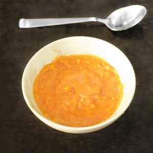 Sweet and Sour Papaya Sauce