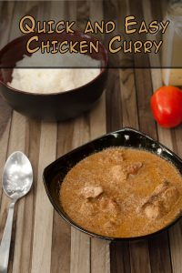 Quick and Easy Chicken Curry www.masalaherb.com #stepbystep #recipe