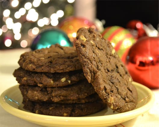 Double-Dark-Chocolate-Mint-Chip-Cookies