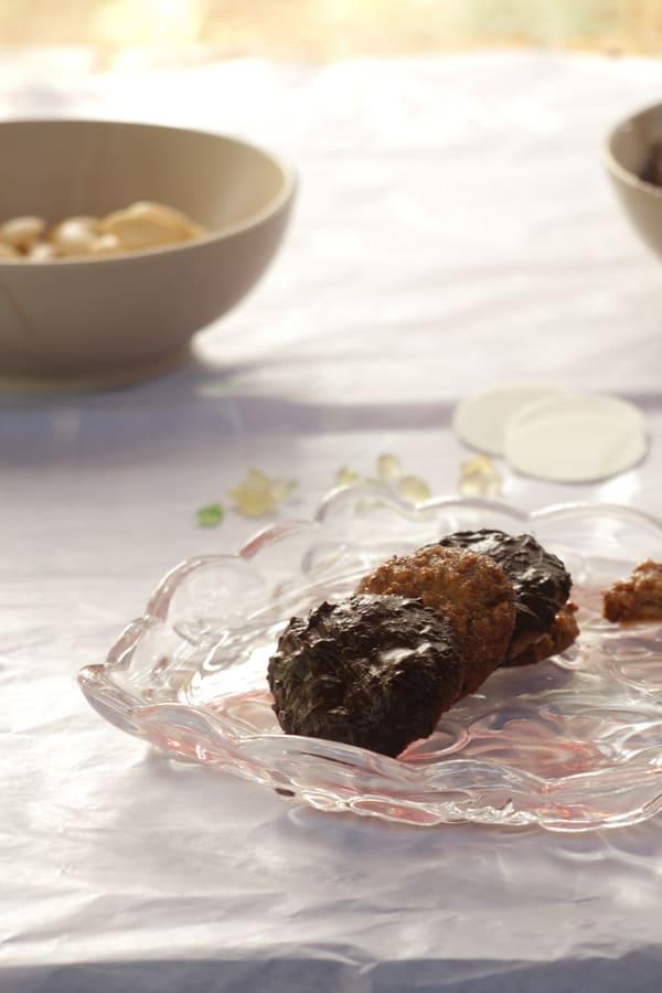 Gluten-free Elisenlebkuchen Cookies www.masalaherb.com #stepbystep #recipe