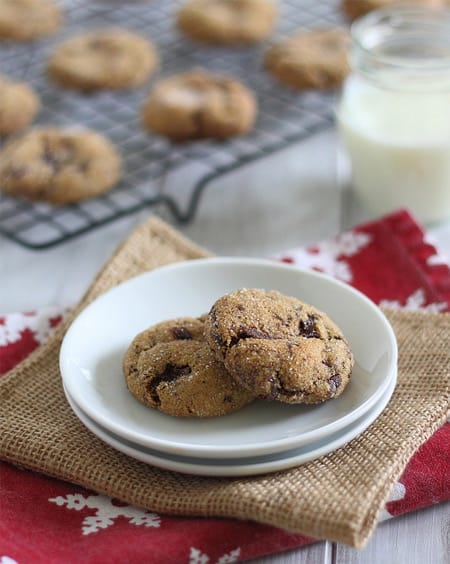 Health(ier)-chocolate-chunk-molasses-gingerbread-cookies