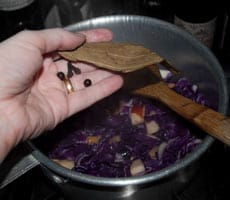 Red Cabbage Side Recipe www.masalaherb.com