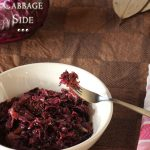 German Red Cabbage Recipe with Apple – Braised Cabbage Side Dish