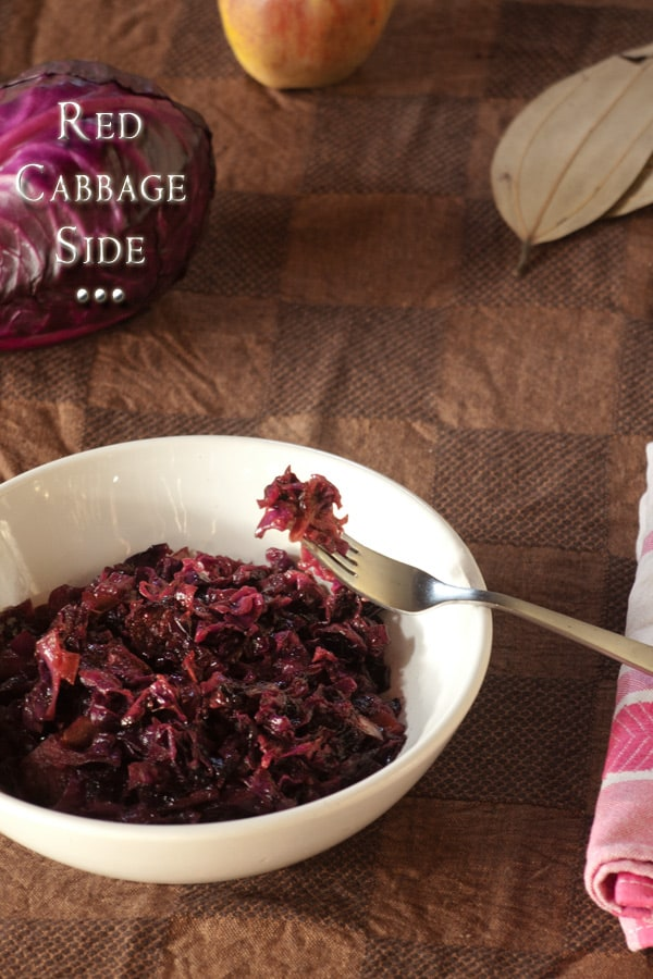 German Red Cabbage Recipe with Apple - Braised Cabbage Side Dish #Recipe #stepbystep #sidedish www.masalaherb.com