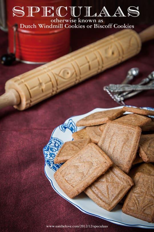 Speculaas (sometimes spelled Speculoos) Cookies