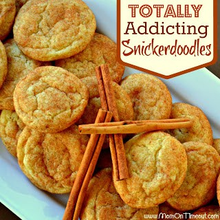 Totally Addicting Snickerdoodles