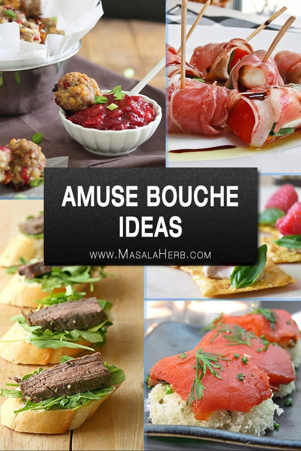20 Amuse Bouche Ideas - Bite Sized Hors d\'Oeuvres Recipes 🍥 - Mini ...