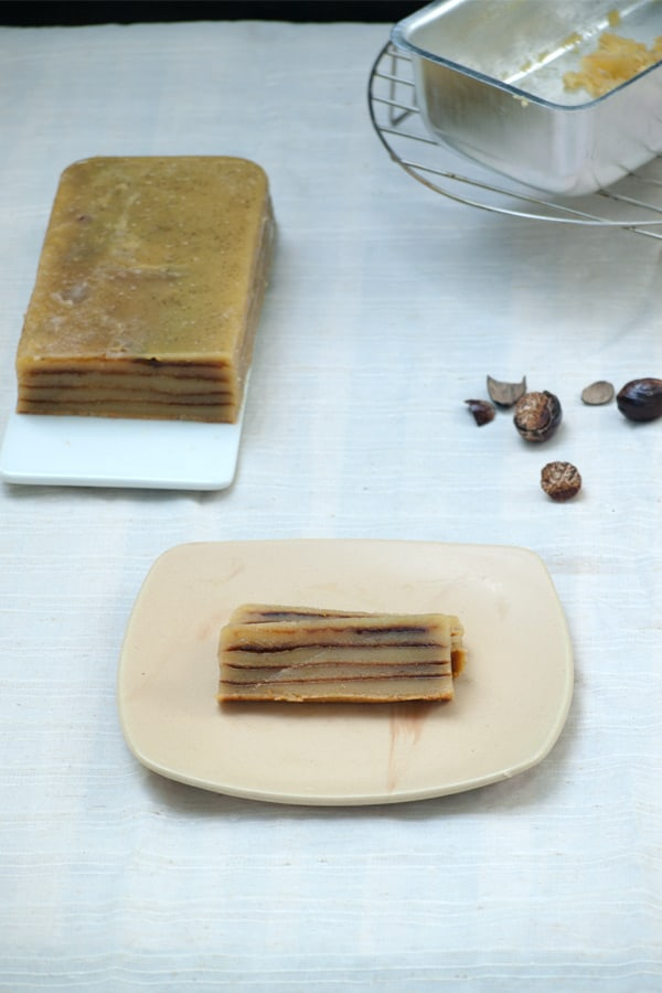 Bebinca - Layered Goan Cake with Coconut milk www.masalaherb.com