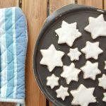Zimtsterne Recipe – German Cinnamon Star Cookies [Gluten-Free]